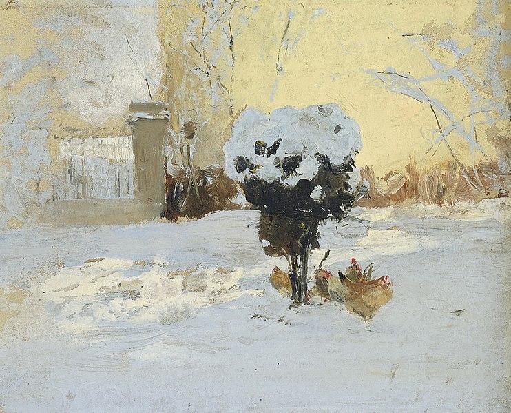 File:Иван Павлович Похитонов - Сад художника в Тро Лоетт, Льеж.jpg