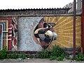 Кировакан, авангардные наброски на стене местного Пикассо - panoramio.jpg
