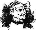 """Н. П. Чехов, карикатура """"Свадебный сезон"""" (папа невесты), 1881г.jpg"""
