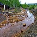 Самоизлив шахтных вод шахты Калинина, Губаха - panoramio (9).jpg