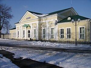 Snovsk - Snovsk railway station