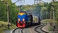 ТЭМ18ДМ-409, Россия, Новосибирская область, перегон Сеятель - Бердск (Trainpix 145382).jpg