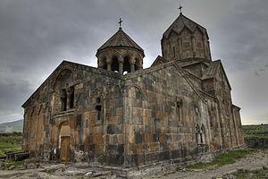 Hovhannavank - St. Hovhannes Karapet (St. John the Baptist) Cathedral, Hovhannavank Monastery (1216 and 1221)