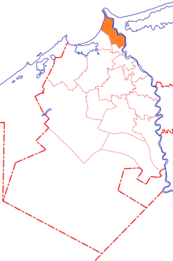 Location in Beheira Governorate
