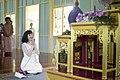 นางพิมพ์เพ็ญ เวชชาชีวะ ภริยา นายกรัฐมนตรี นำคู่สมรสผู้ - Flickr - Abhisit Vejjajiva (69).jpg