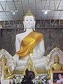 หลวงพ่อขาว พระประธานในอุโบสถ Luang Po Khao in Ordination Hall.jpg