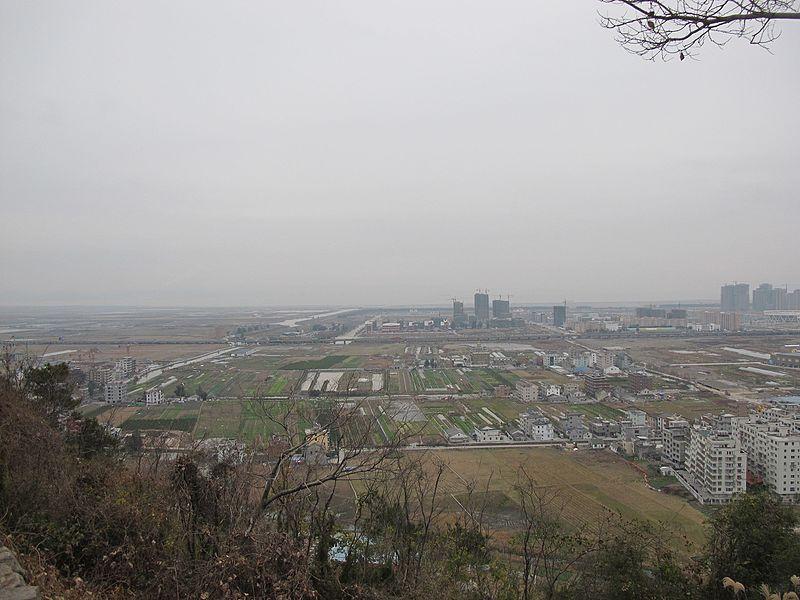 File:东山上看乐清市全貌 - panoramio (2).jpg