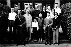 Jinyu Qin Society - Group photo of the society in 1961