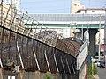 名古屋市営地下鉄東山線一社駅付近.JPG