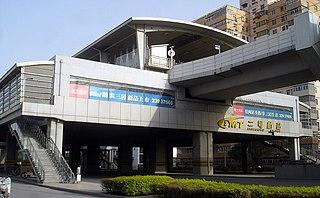 Erhaoqiao station metro station in Tianjin, China