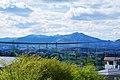 泉ヶ岳と船形連峰 Mt. Izumi-gatake in Funagata Mountain Range - panoramio.jpg