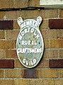 -2018-09-05 A plaque for the Norfolk Rural Craftsmen's Guild, Trimingham.JPG