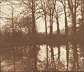 -Winter Trees, Reflected in a Pond- MET DP148627.jpg