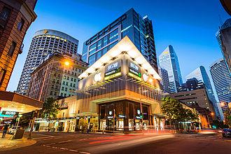 MacArthur Central - Elizabeth Street and Edward Street facades
