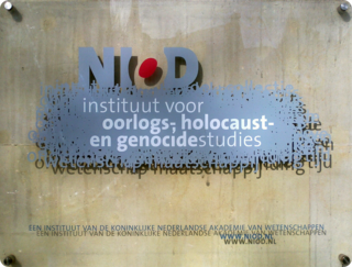 NIOD Institute for War, Holocaust and Genocide Studies research institute
