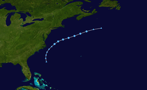 Tropical Depression One (2009) - Image: 01 L 2009 track
