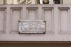 Photo of Grey plaque number 31338