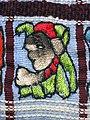 030 - Huipil Ceremonial Santiago Atitlan Detail Frontside 1989 07.JPG