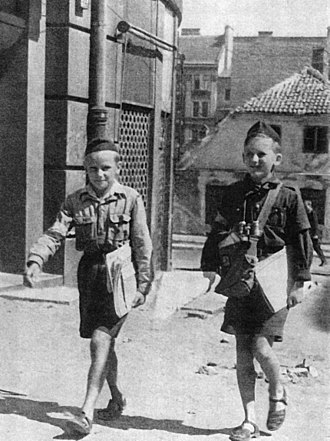 Gray Ranks - Postmen during the Warsaw Uprising