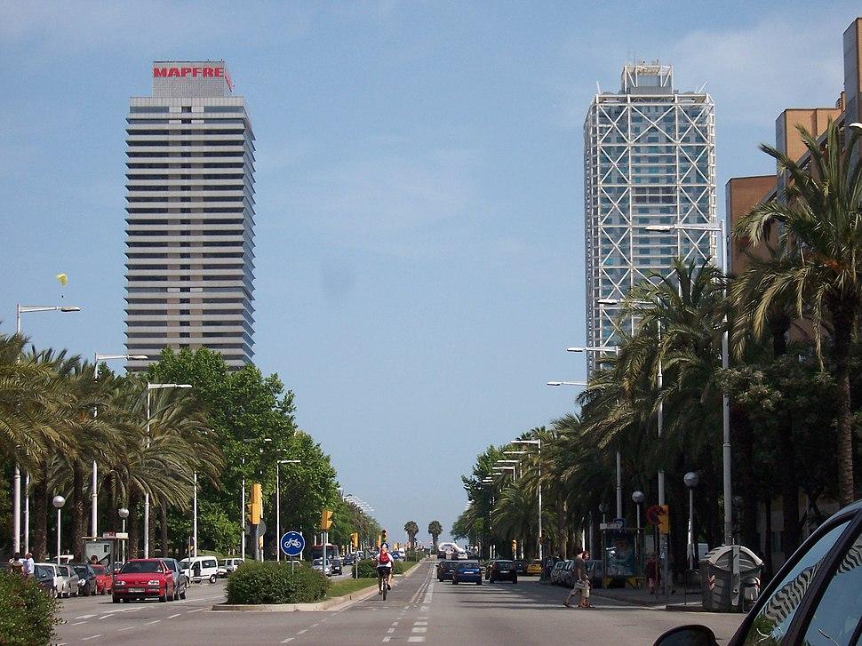 Hotel Arts e Torre Mapfre