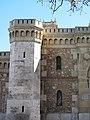 052 Sant Miquel dels Reis (València), torre del portal d'accés al recinte.jpg