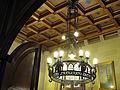 059 Ajuntament de Terrassa, llum del sostre de la sala de l'alcaldia.JPG