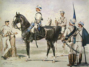 Quinto Cenni - Italian Cavalry in East Africa, 1885–86