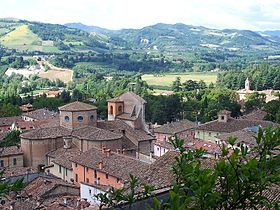 Panorama of Brisighella