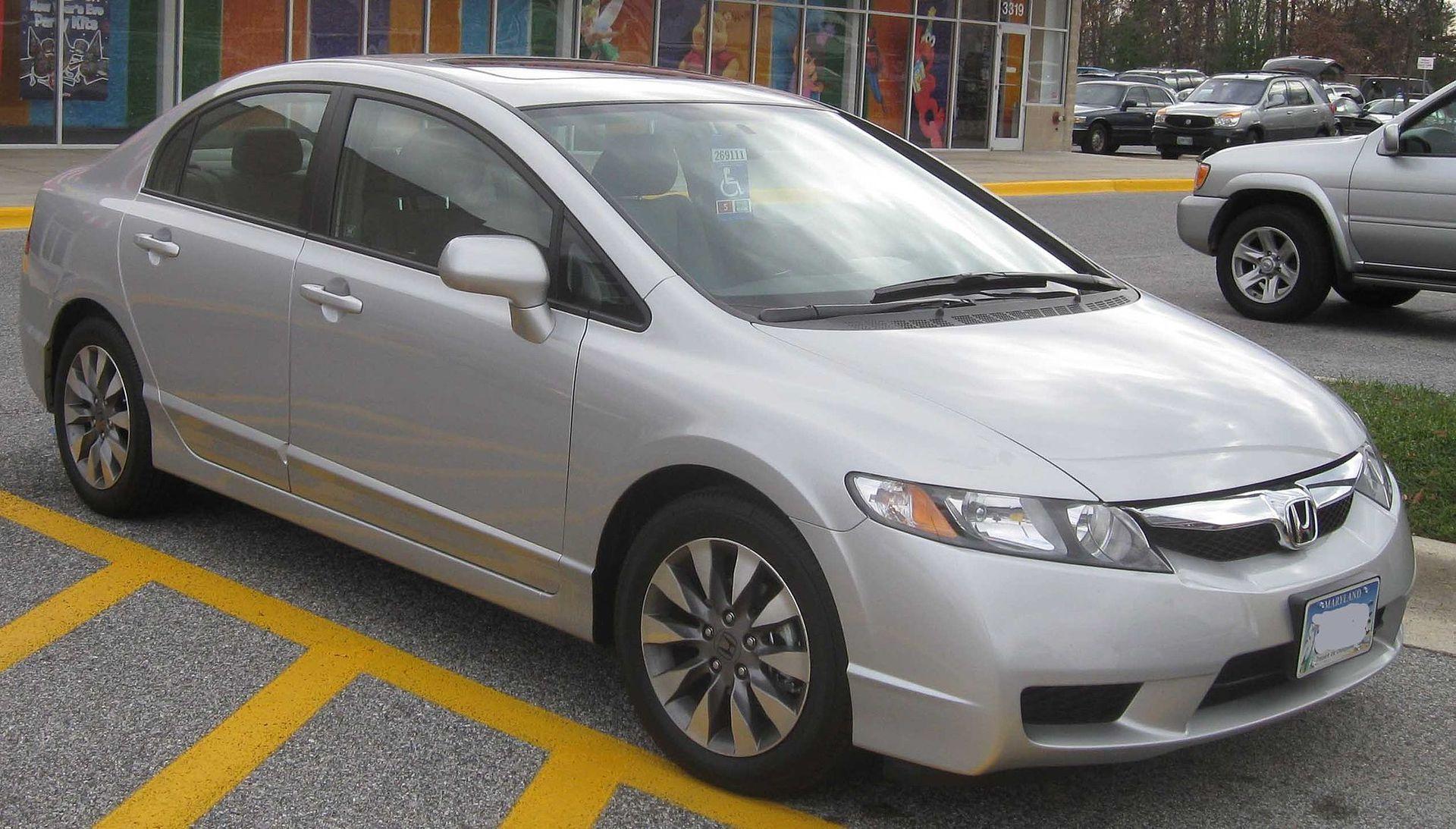 Honda Civic Sedan VIII w wersji amerykańskiej