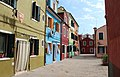 0 Burano, façades des maisons sises Calle Broetta.JPG