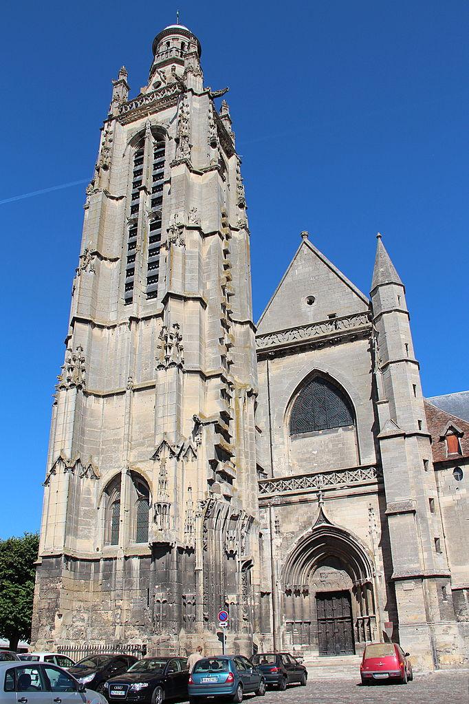 File 0 compi gne tour et grand portail de l 39 glise saint for Crouqui des portail coulissant tours