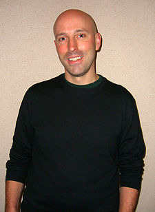Brian K. Vaughan na New York Comic Con v roce 2012.