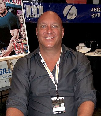 Steve Wilkos - Wilkos at the 2012 New York Comic Con.