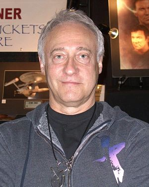 Actor Brent Spiner at the Big Apple Convention...