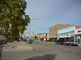 The Business District of North Battleford