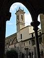 104 Sant Jeroni de la Murtra, galeria oest del claustre i campanar.JPG