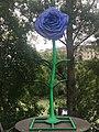 1090 Rossaußer Lände - Donaukanalradweg - Sommerstage Skulpturengarten - 50 Jahre Flower Power von Jacques Tilly 2018 IMG 7596.jpg