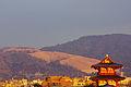 110122 Mount Wakakusa approximately one hour before Yamayaki.jpg