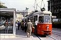 124R09221084 Haltestelle Lerchenfelderstrasse, Strassenbahn Linie 46, Typ C1 119.jpg