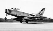 131st Tactical Fighter Squadron - North American F-86H-1-NA Sabre 52-2030