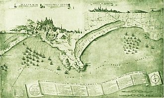 The French siege of Cagliari and Quartu 1793 view of Cagliari.jpg
