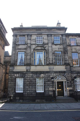 Richard Haldane, 1st Viscount Haldane - 17 Charlotte Square, Edinburgh, birthplace of Richard Haldane