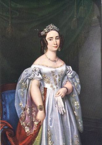 Princess Cecilia of Sweden (1807–1844) - Cecilia as Grand Duchess of Oldenburg.