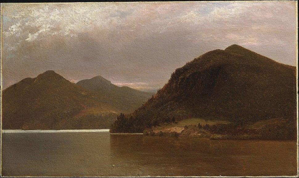 1870, Kensett, John Frederick, Lake George