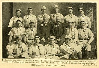 Indianapolis Indians - The 1902 Indianapolis Indians