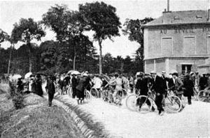 1903 Tour de France, Stage 1 to Stage 3 - Image: 1903cafeaurm