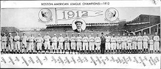 1912 Boston Red Sox season - Image: 1912 Boston Red Sox