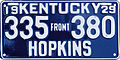 1929 Kentucky front license plate.jpg