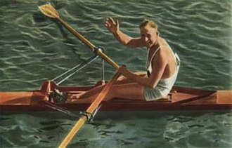 Australian Rowing Championships - Bobby Pearce, world and Olympic champion