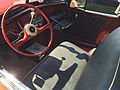 1951 Willys Jeepster 4-cylinder in red and black with white top at 2015 Macungie show 4of5.jpg